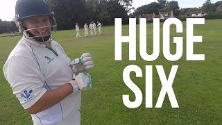 GoPro Cricket: Kieran Batting in a MATCH! *RUNS?*