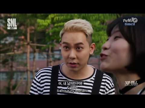 [ENG SUB] AOMG @ SNL Korea 3 Minutes Boyfriend Loco, Gray, Jay Park 160611