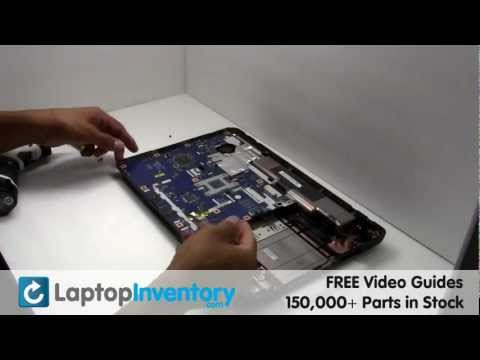 Acer Aspire Fan Replacement 5532   Laptop Notebook CPU Cooling Fan and Heatsink Fix Repair Install