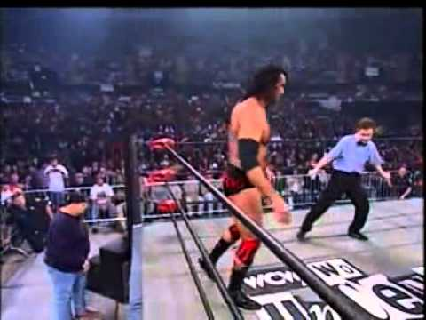 Sting vs Scott Hall - World Heavyweight title - WCW Uncensored 1998