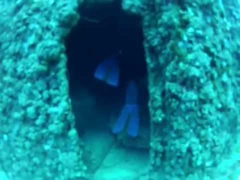 USS Duane 322 foot Shipwreck ~ Scuba Diving Florida Keys (Marathon)