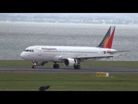 Philippine Airlines ► Airbus A320-200 ► Inaugural Landing ✈ Auckland Airport
