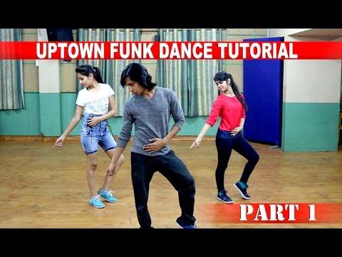 Dance Tutorial | Uptown funk part 1 by Gaurav Mehra