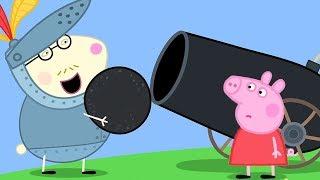 Peppa Pig Full Episodes - The Castle - Cartoons for Children