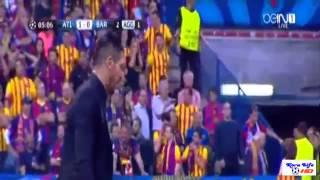 هدف اتلتيكو مدريد ضد برشلونة   اليوم 09 04 2014    ابطال اوروبا رؤوف خليف HD
