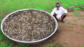 Rare River Fish Kulambu Prepared by my daddy / Ayirameen Kulambu / Village food factory
