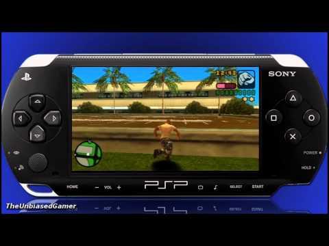 GTA Vice city stories- PSP- HD PVR