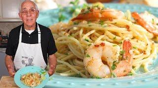 Spaghetti Shrimp Scampi Recipe
