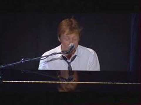 Paul McCartney - Olympia Live - The Long and Winding Road