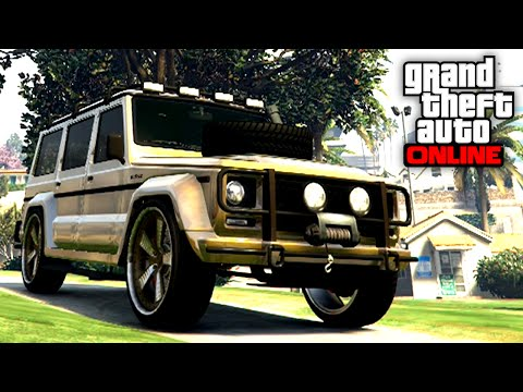 GTA 5 Rare & Secret Cars - FREE FULLY Customized DUBSTA Spawn Location Online! BEST SELLING CAR