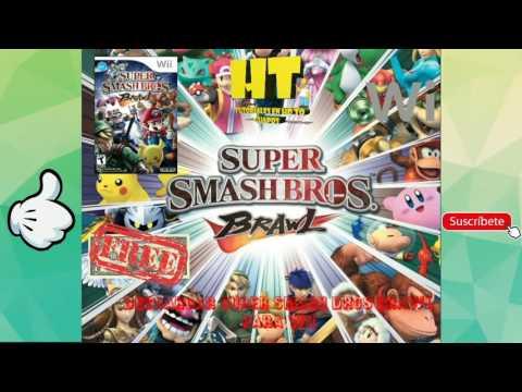 Descargar Super Smash Bros Brawl para WII