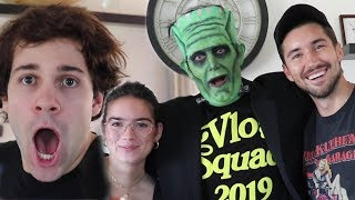 SURPRISING THE VLOG SQUAD FOR HALLOWEEN!!