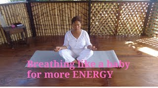 Breathing like a baby for more Energy...#massage#energy#creative#breathing