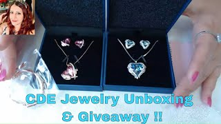 Amazing CDE Jewelry  unboxing and GIVEAWAY !!