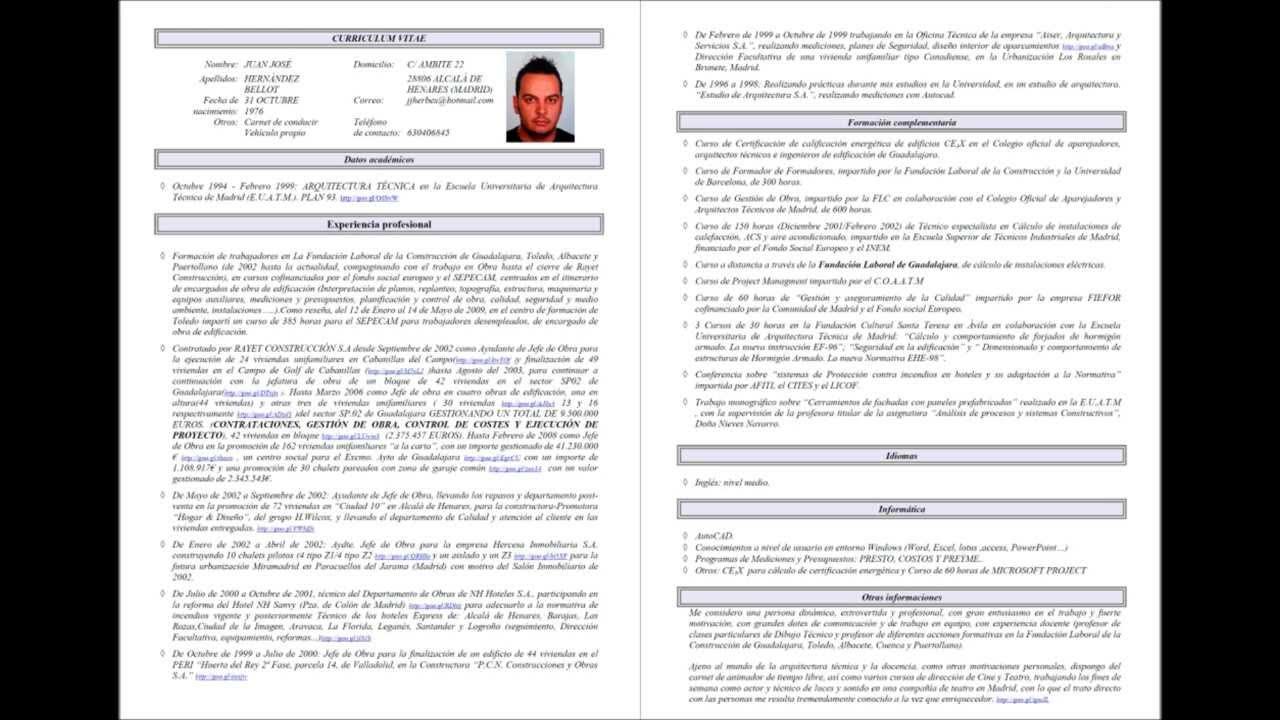 Currículum Vitae Brígida M Pastor Pastor GENDERLIJPROJECT - talart.ru