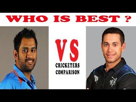 MS Dhoni vs Ross Taylor Career Comparison   Best Batting Innings Runs Century Vs in Test ODI T20 IPL