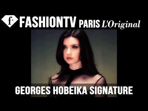 Georges Hobeika Signature SpringSummer 2015 Runway Show | New...