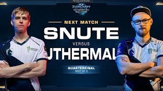 Snute vs uThermal - WCS Challenger 2018 - Season 2 - EU