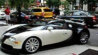 Bugatti Veyron test drive accident