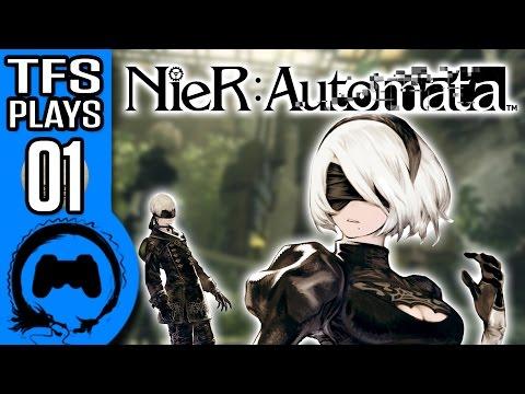 NIER: AUTOMATA | Part 1 | TFS Plays