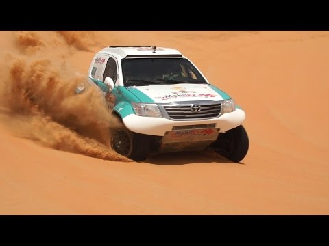 MobilEx Racing Team - Abu Dhabi Desert Challenge 2015