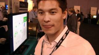 GTC 2010 - Exxact Corp $15k GPU Workstation shows rendering power over CPU
