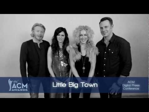 2013 ACM Awards Digital Press Conference - Special Message from Little Big Town