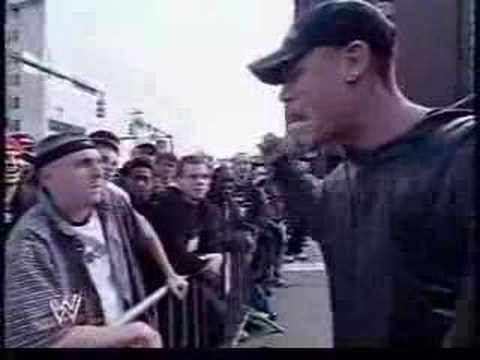 JOHN CENA RAP BATTLES A FAN Video