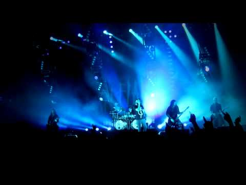 In Flames - Fear is the weakness (Live at scandinavium in Göteborg, Sweden 2011)