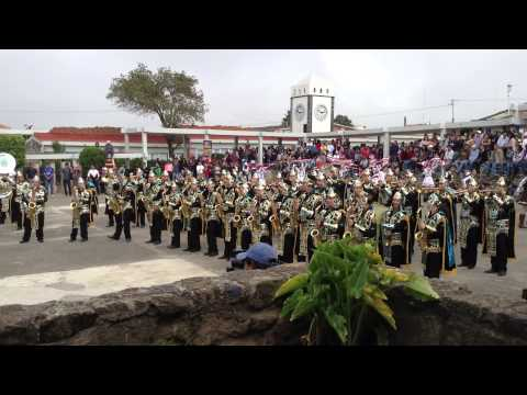 BUHOS MARCHING BAND CHIGNAHUAPAN 2013