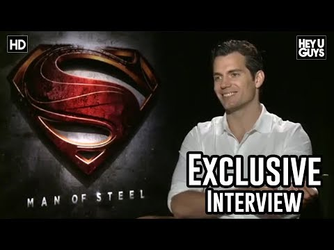Henry Cavill Interview - Man of Steel