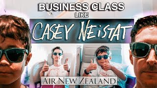 WE DRESSED as CASEY NEISTAT in BUSINESS CLASS on AIR NEW ZEALAND!