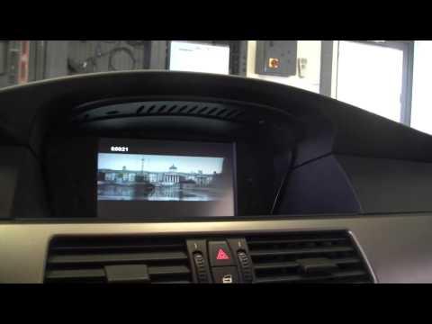 BMW E60 with Dynavin multimedia-unit