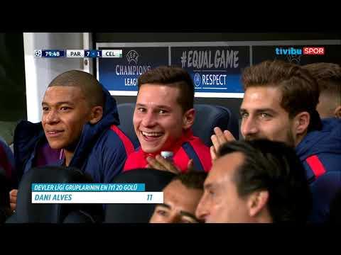 UEFA Şampiyonlar Ligi Gruplarında Atılan En İyi 20 Gol