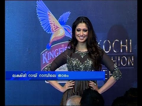 Actress Lakshmi Rai  On Ramp :kingfisher Ultra Fashion Week video