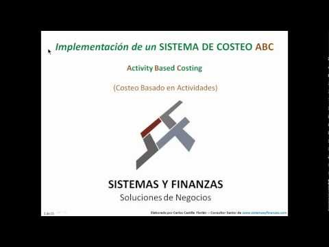 Sistema de Costeo ABC - 1 de 2 - HD