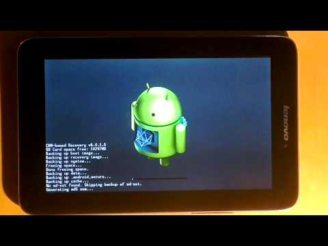 Lenovo IdeaTab A2107A-H + ROOT + Clockwork Mod Recovery 6.0.1.5