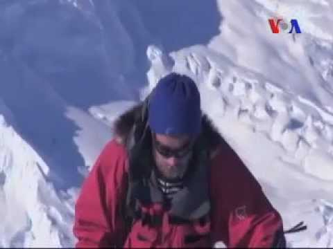 South Pole Centennial Trek - Sarah Zaman - Urdu VOA