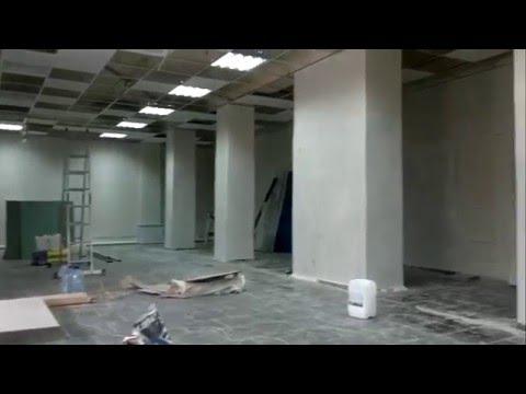 Косметический ремонт помещения под магазин.г.Чапаевск.