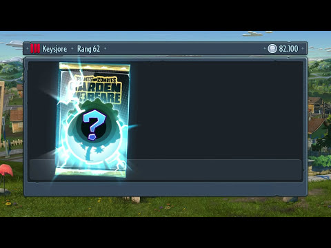 Plants Vs Zombies Garden Warfare Sticker Pack Opening #10 Deutsch