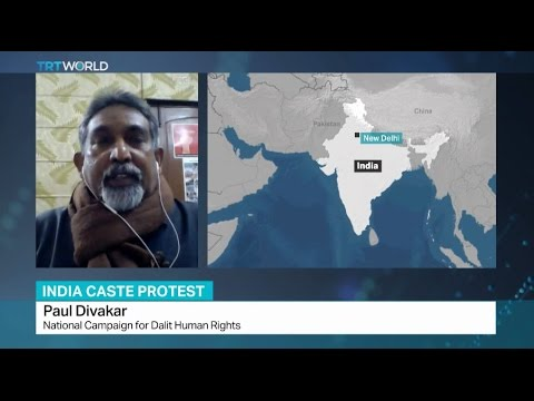 Protests in India following Dalit student's suicide, Paul Divakar talks to TRT World on the issue