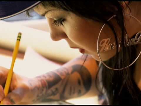 Tags: ink miami tattoo kat von d chris garver 50s pin-up pinups sexy tattoo