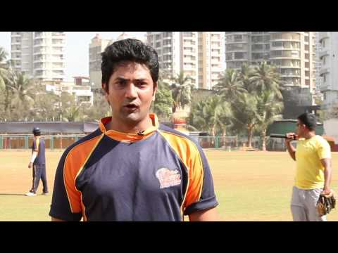 ANIKET VISHWASRAO -  VEER MARATHI : Celebrity Cricket League