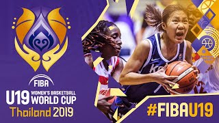 Mozambique v Korea -  Full Game - FIBA U19 Women's Basketball World Cup 2019