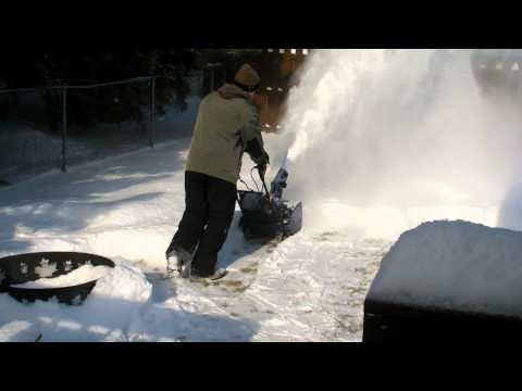 Cordless / Battery Powered Electric Snowblower