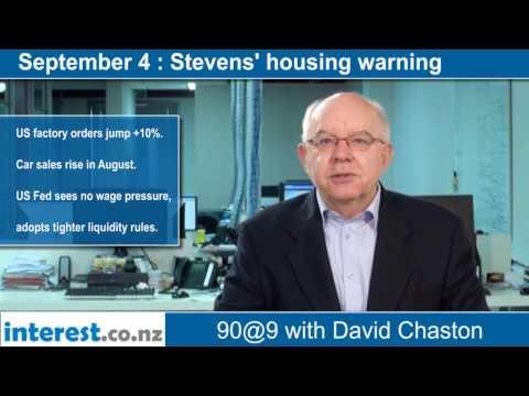 90 seconds @ 9am: Stevens' housing warning