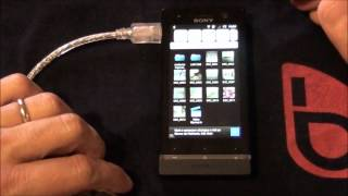 USB Host su Sony Xperia U Video da batista70phone