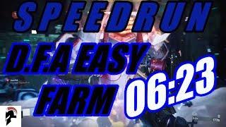 Destiny 2 - D.F.A Farming Strategy - Prestige Nightfall Speedrun (6:23) - Tree Of Probabilities
