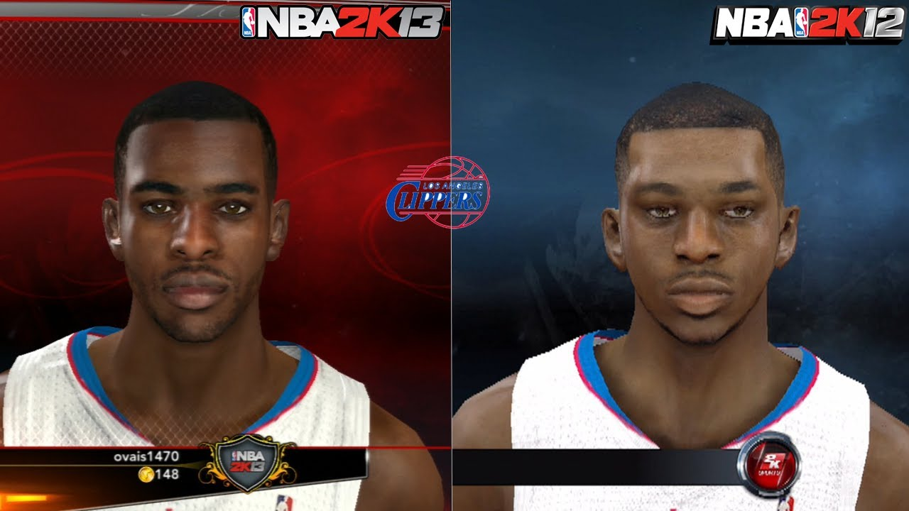NBA 2K13 vs NBA 2K12 F... Chris Paul Shoes 9