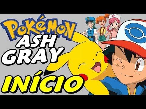 Pokémon Ash Gray (detonado - Parte 1) - Pikachu E O Início video